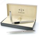 zestaw długopis i pióro Parker w eleganckim opakowaniu
