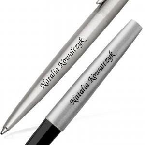 markowy długopis i pióro z grawerem na prezent na komunię