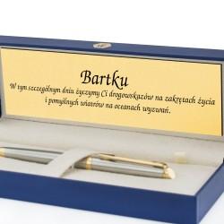 długopis na prezent w etui z grawerem