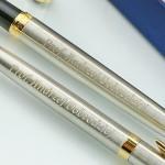 grawerowane pióro i długopis na prezent