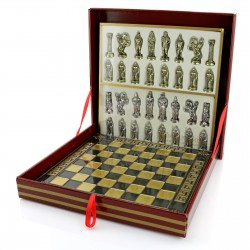 elegancki zestaw szach na prezent z okazji 60 urodzin