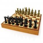 szachy rzymskie z grawerem dedykacji