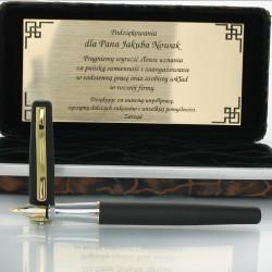 personalizowany długopis marki Duke z grawerem