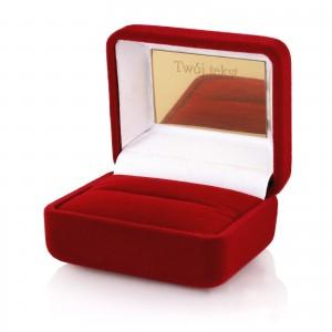 pudełko na biżuterię z grawerem dedykacji