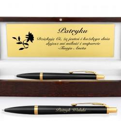 elegancki długopis na prezent dla mężczyzny