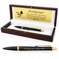 długopis grawerowany na prezent