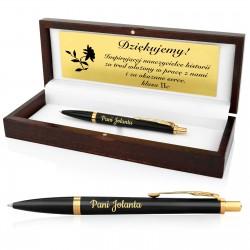 długopis w pudełku z grawerem dla nauczyciela historii