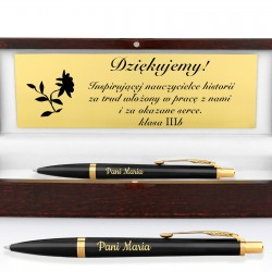 długopis w etui z grawerem na prezent dla historyka