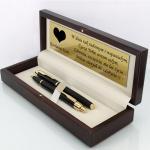 długopis i pióro parker w eleganckim etui