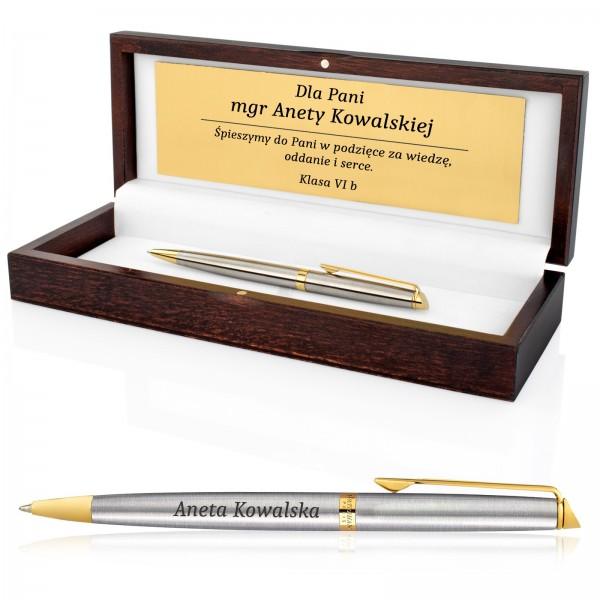 długopis z grawerem na prezent dla nauczyciela