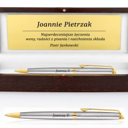 długopis z dedykacją na prezent