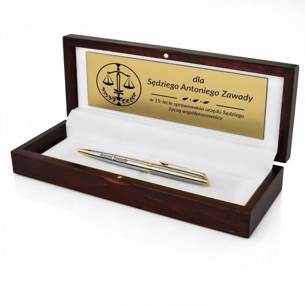 długopis waterman z personalizacją na prezent