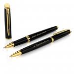 pióro i długopis waterman z grawerem na prezent