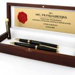 pióro i długopis waterman z personalizacją